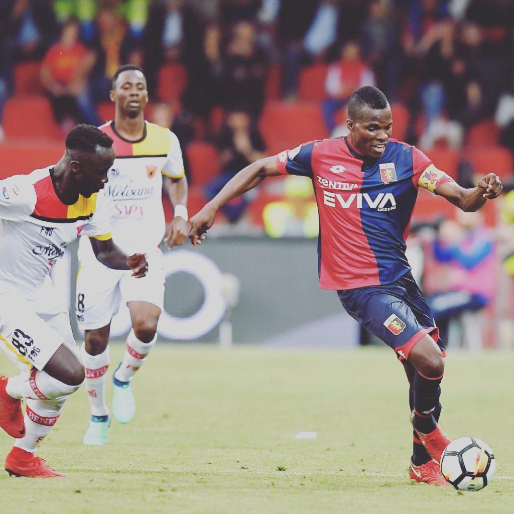 Genoa midfielder Isaac Cofie pops up on Parma and Empoli radar