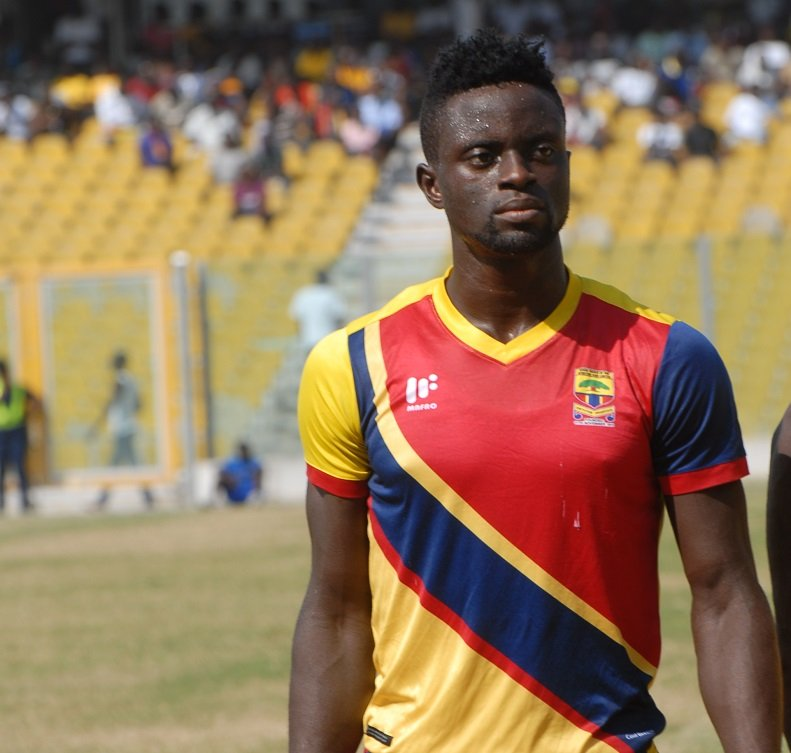 Medeama rubbish reports linking sacked Hearts striker Cosmos Dauda to club