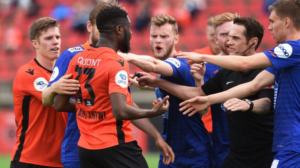 Ghana midfielder Antwi\'s showy goal angers opponents in Norway top-flight