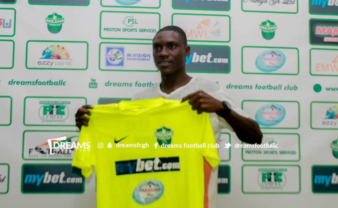 Dreams FC complete the signing of youngster Issah Ibrahim