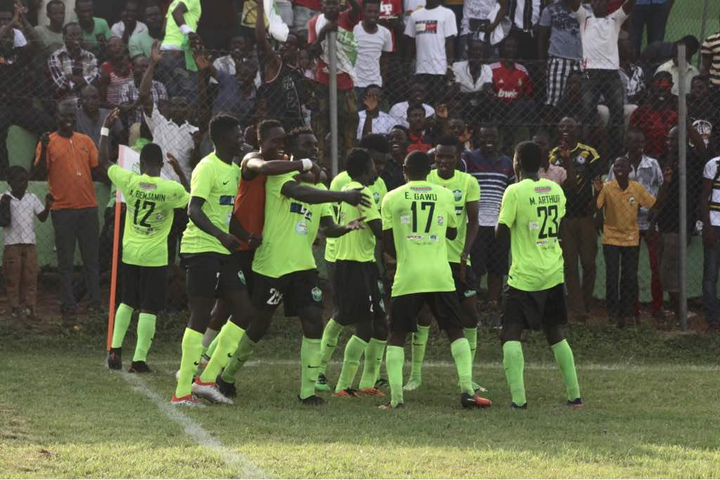 Match Report: Dreams FC 1-0 Eleven Wonders -Issah Yakubu's solitary strike hands Dreams FC win
