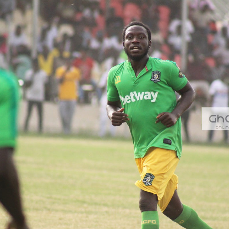 Aduana Stars midfielder Elvis Opoku happy after debut Africa season