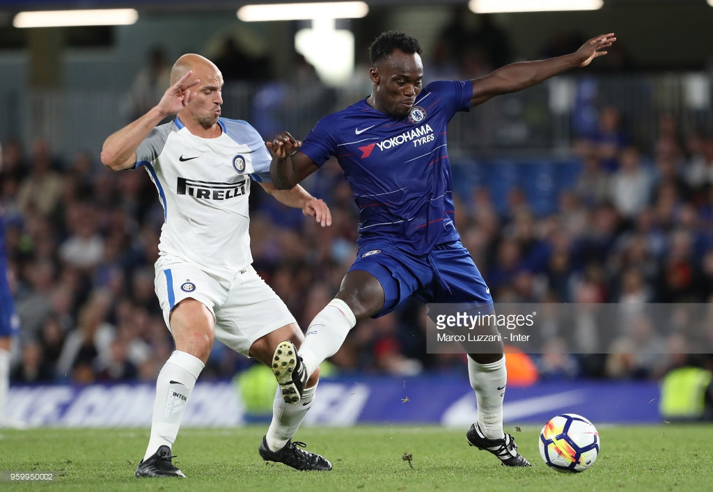 Video: Michael Essien gets extraordinary welcome on Stamford Bridge entry in Chelsea friendly