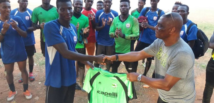 Inter Allies name Fuseini Mohammed as most discipline player of the month