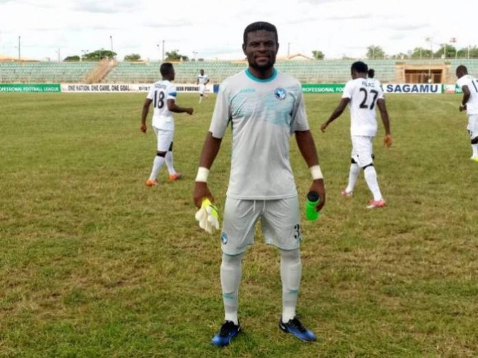 Ghana goalkeeper Fatau Dauda grateful to PFAG for resolving Enyimba dispute