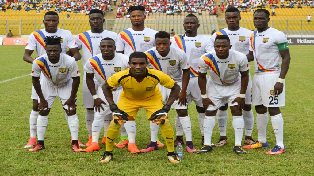 Hearts of Oak line-up Kaakyire FC friendly match