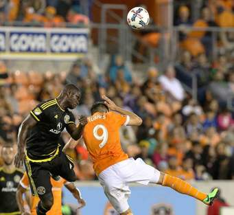 Jonathan Mensah confident ahead of Columbus Crew's game against Kansas City