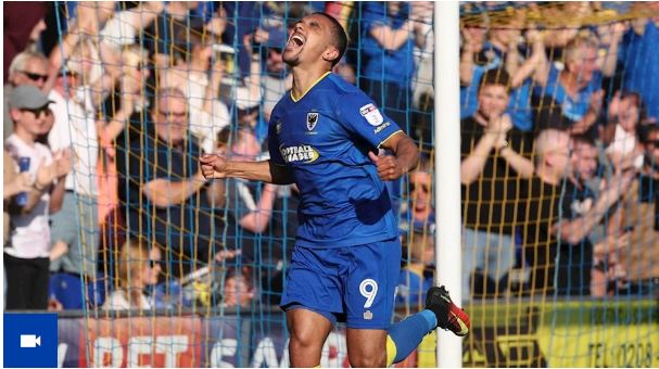 Kwesi Appiah scores on final day of season as AFC Wimbledon held to draw by Bury