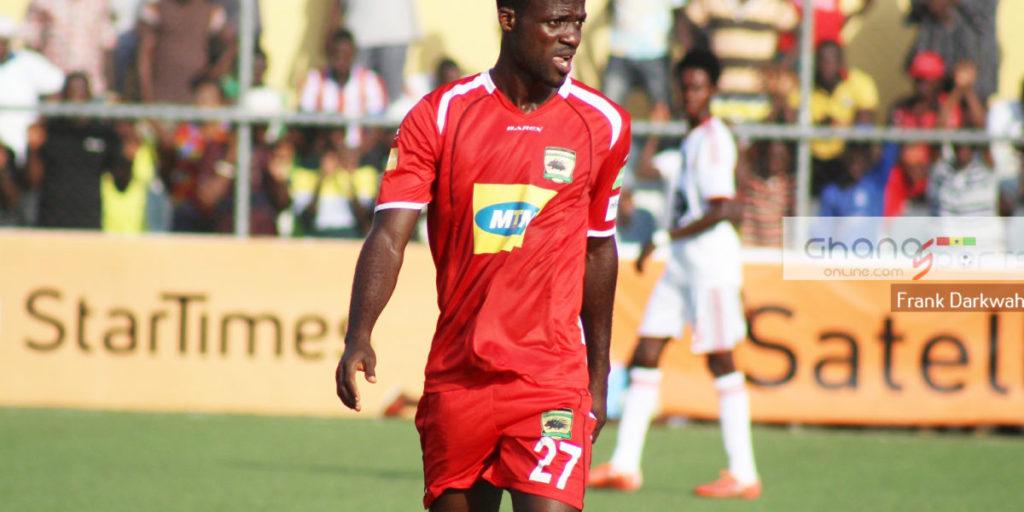 Kotoko release 'unpopular' striker Mawuli Osei