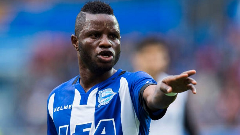 Deportivo Alaves ace Mubarak Wakaso scores first league goal in last match of the season