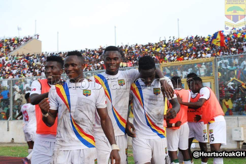 Hearts of Oak to play Ebusua Dwarfs in a friendly on Sunday