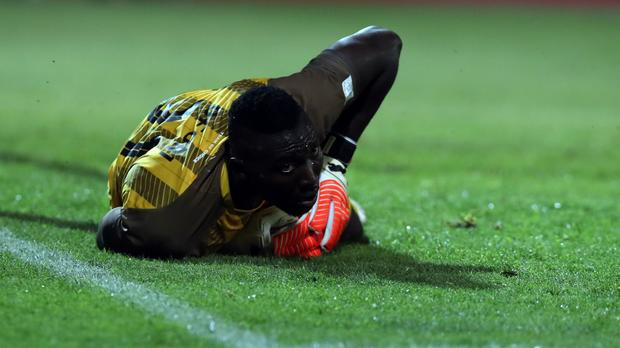 Maritzburg No.2 bangs hopes on Richard Ofori ahead of Nedbank final against Free State Stars