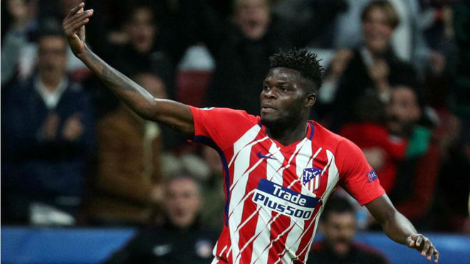 Ghana midfielder Thomas Partey included in Athelitico Madrid's squad for Europa League final