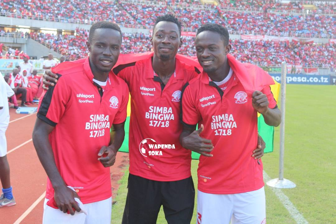 Ghanaian trio Kwasi Asante, James Kotei and Nicholas Gyan win Tanzanian Premier League with Simba SC