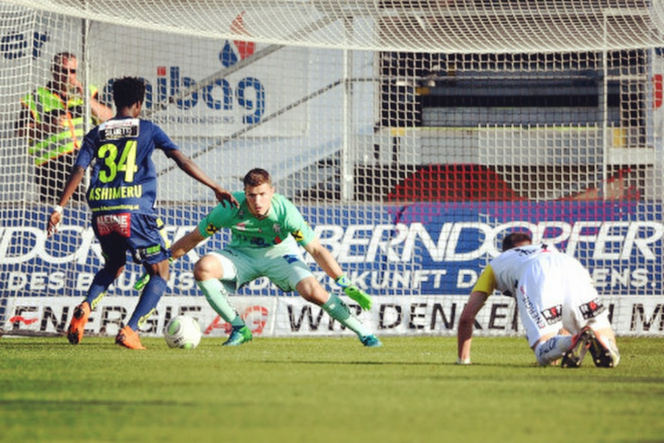 ae32193c2d894 VIDEO  Former WAFA star Majeed Ashimeru scores sparkling goal for  Wolfsberger AC in Austrian top-flight