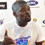 Medeama Coach Samuel Boadu happy with win over Champions Aduana Stars