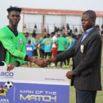 Inter Allies goalkeeper Saed Salifu named Man of the Match in win at Wa All Stars