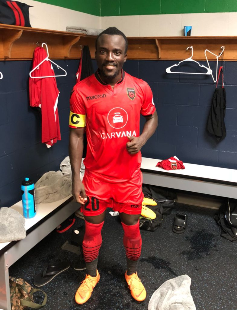 In-form Solomon Asante nominated for MVP in American USL