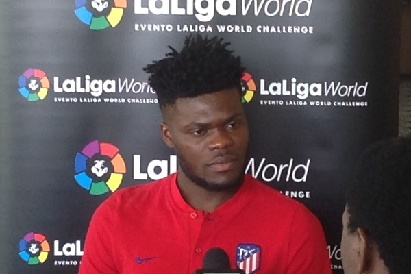 Ghana midfielder Thomas Partey says Athletico Madrid did the right things in their victory over Nigeria in friendly