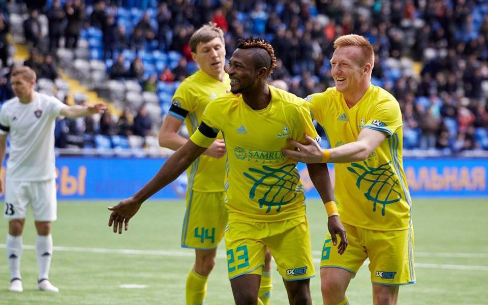 Kazakhstani giants Astana block Ghanaian forward Patrick Twumasi's moves to Spain