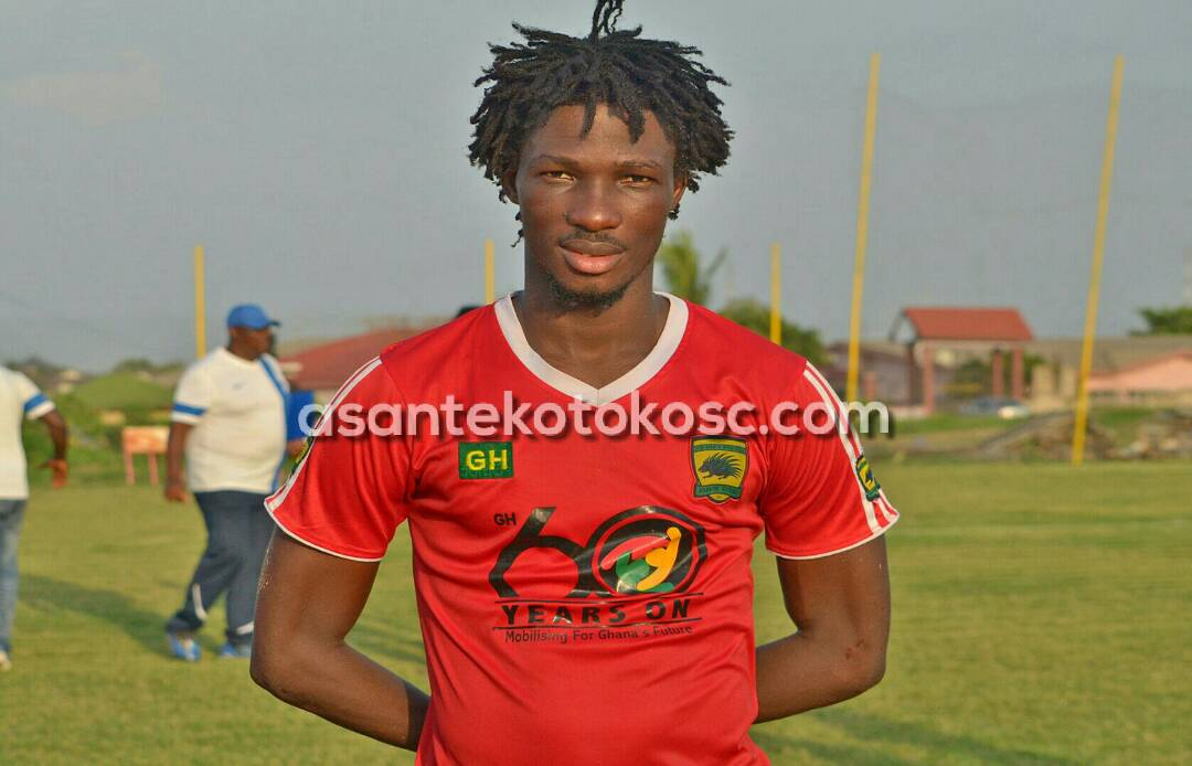 Kotoko striker Songne Yacouba needs to works hard- Maxwell Konadu