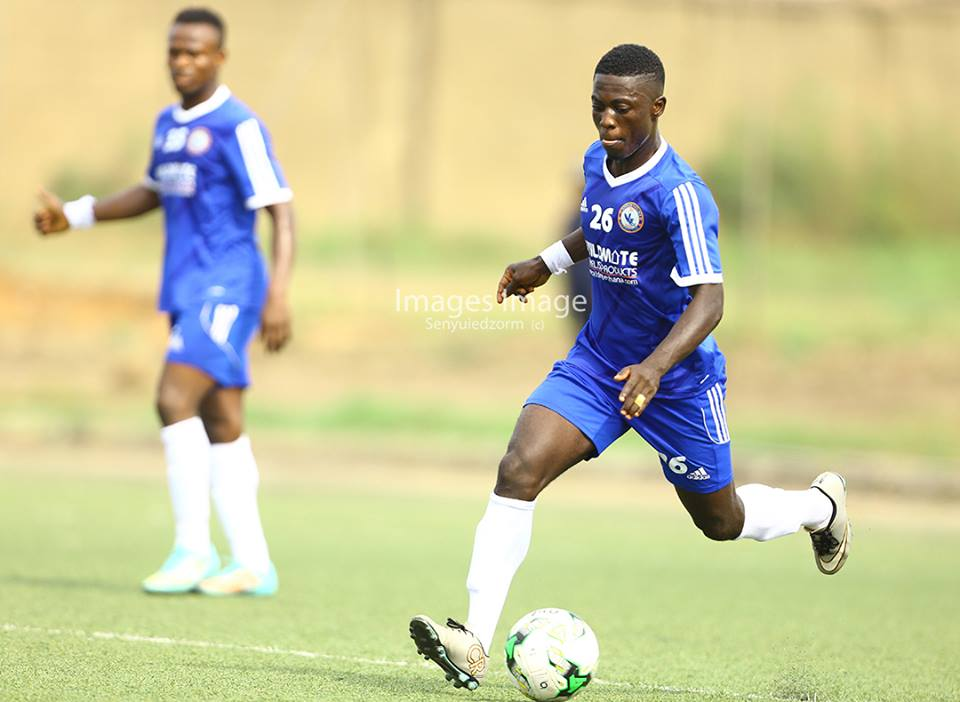 Berekum Chelsea striker Stephen Amankona accepts criticism from coach Svetislav Tanasijevic