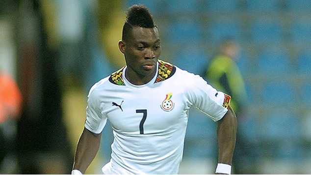 Ghana midfielder Christian Atsu to miss Iceland, Japan friendlies