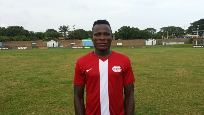 Liberty Professionals announce Augustine Arhinful signing