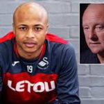 Former West Ham chief charged over comments on Andre Ayew and African players