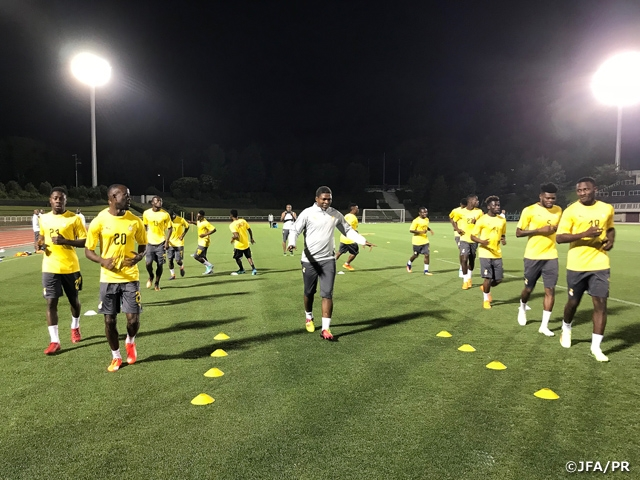 Black Stars midfielder Thomas Partey charges for Japan friendly clash