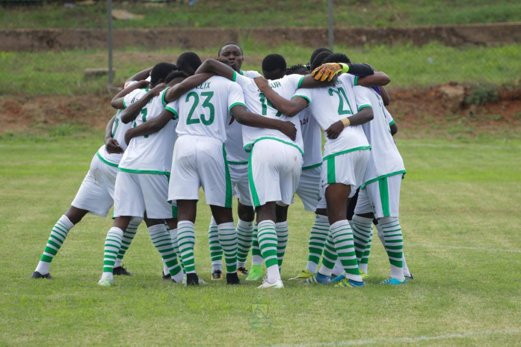 Match Report: Elmina Sharks 2-2 Ebusua Dwarfs - Yakubu, Nkrumah score as Central Regional derby ends in stalemate