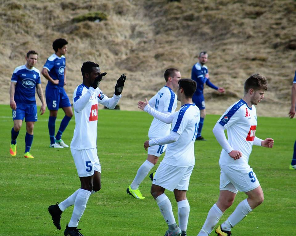 Víkingur Ólafsvík star Emmanuel Eli Keke gets another Team of the Week pick in Iceland