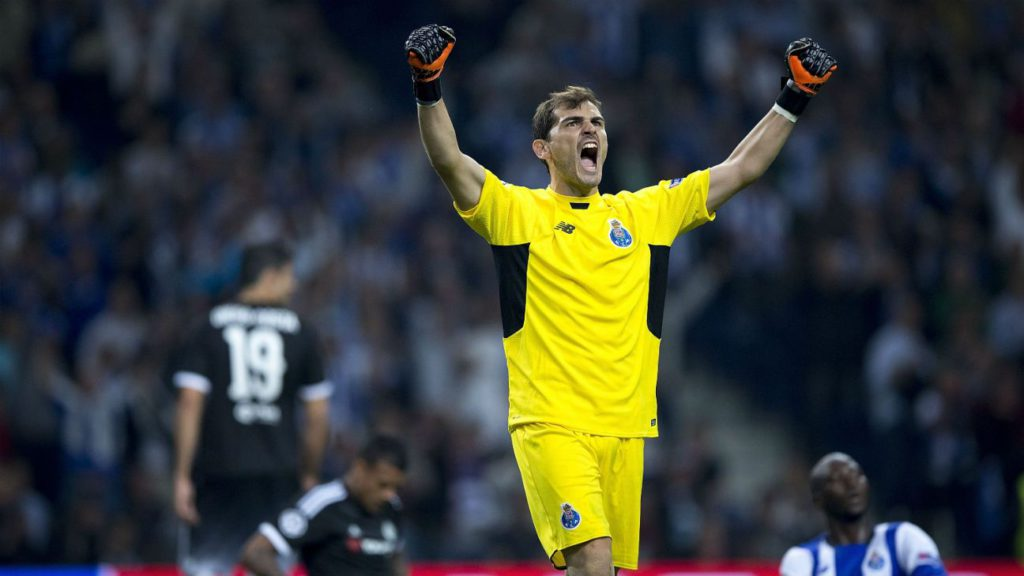 Majeed Waris and his Porto team-mates want Iker Casillas to stay put