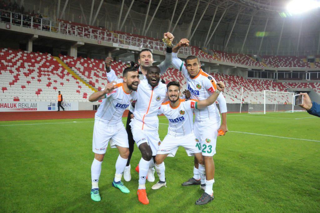 Isaac Sackey's Alanyaspor survive relegation scare despite John Boye's strike for Sivasspor