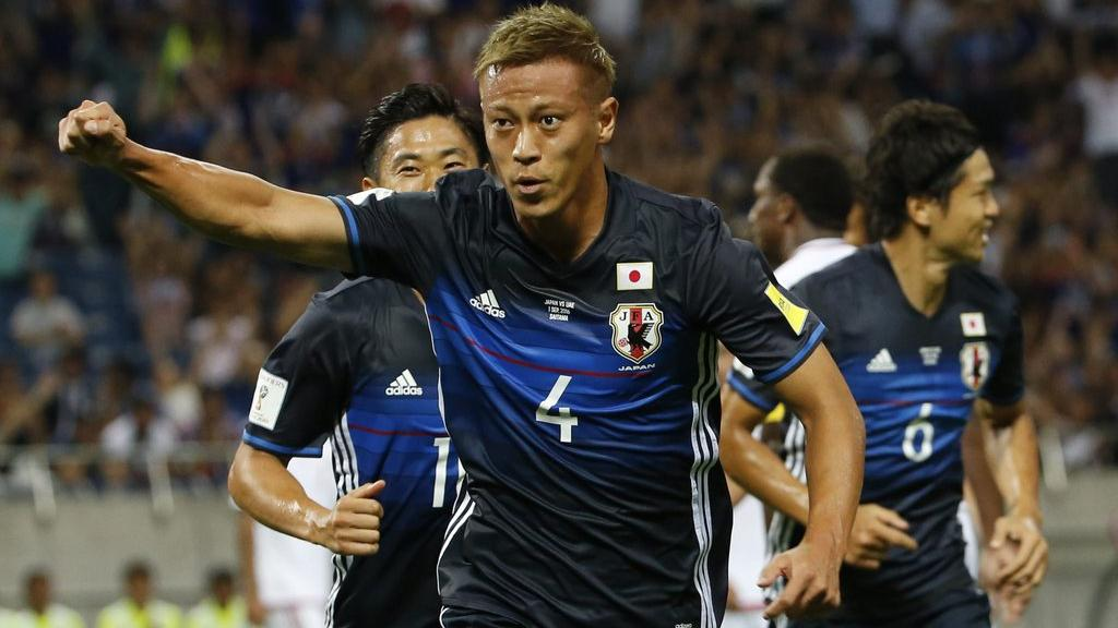 Honda, Kagawa named in Japan squad for Ghana pre-World Cup friendly