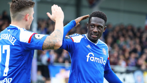 Red-hot Ghanaian defender Kingsley Schindler nets 12th goal as Holstein Kiel miss out on Bundesliga promotion