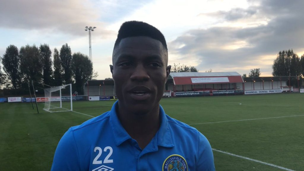 Ghanaian midfielder Koby Arthur set to leave Macclesfield Town