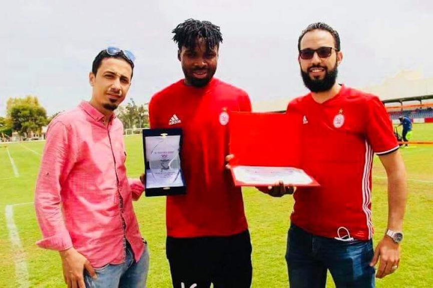 Former Hearts of Oak striker Kwame Kizito bags two awards at Al Ittihad
