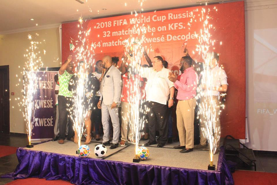 Kwesé Media launches Russia 2018 FIFA World Cup viewing