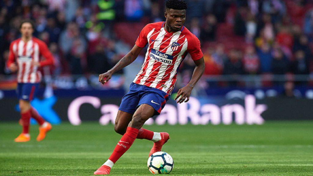 Ghana star Thomas Partey stars as Atletico deny Arsenal, advance to Europa final