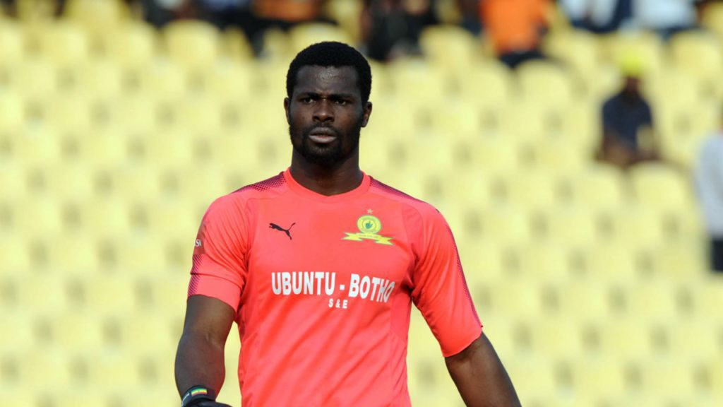 Ghana goalkeeper Razak Brimah set to face Barcelona in Sundowns friendly