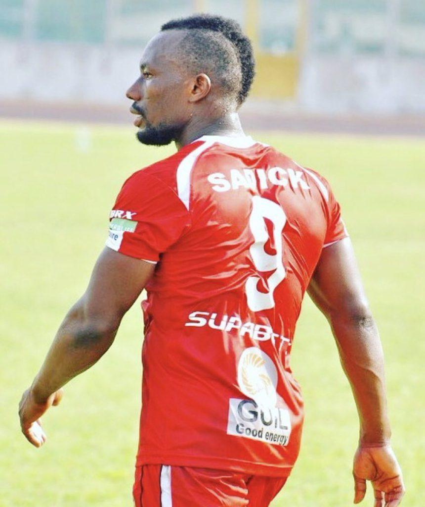 Former Asante Kotoko striker Saddick Adams eyes 'dream' Hearts of Oak move