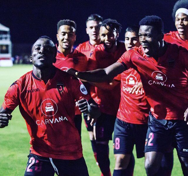 VIDEO: Red-hot Solomon Asante bags sixth league goal in Phoenix Rising victory