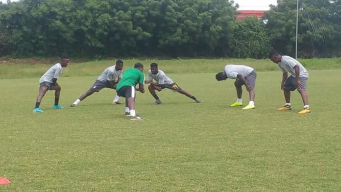 Six players report for first Black Stars training ahead Japan and Iceland friendlies