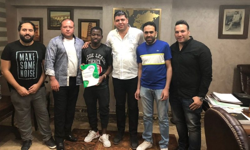 Ex-Hearts of Oak midfielder Torric Jebrin discloses Hossam Hassan impact on his signing for Al Masry