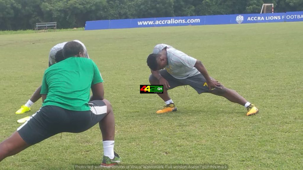 Black Stars end training in Accra with 11 players ahead of Japan friendly