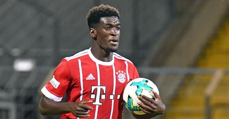 Ghanaian forward Kwasi Okyere Wriedt scores 17th goal of the season for Bayern Munich II