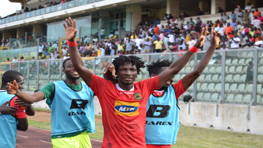 Match Report: Asante Kotoko 2-1 Aduana Stars - Yacouba Songne's brace powers Porcupine Warriors to victory