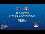 FIFA World Cup™ 2018: Australia - Peru: Peru - Pre-Match Press Conference