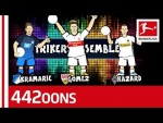 Hazard, Gomez or Kramaric For Striker No.1? - World Cup Dream Team Rap Battle - Powered by 442oons